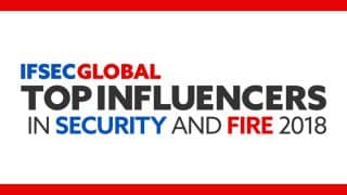 Featured in IFSEC Security & Fire Influencers 2018