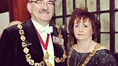 John Kelly MBE, Appointed Deacon Convener at Trades House in Glasgow