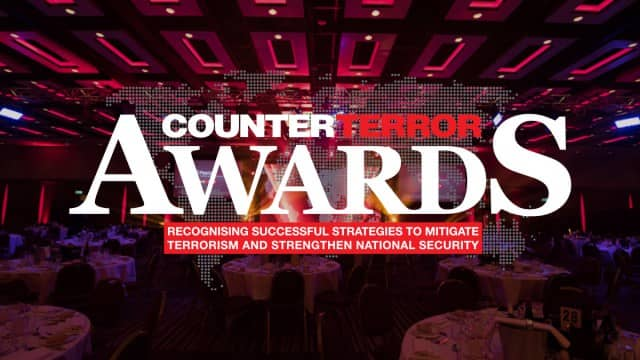 SecuriGroup Director Wins Counter Terrorism Award