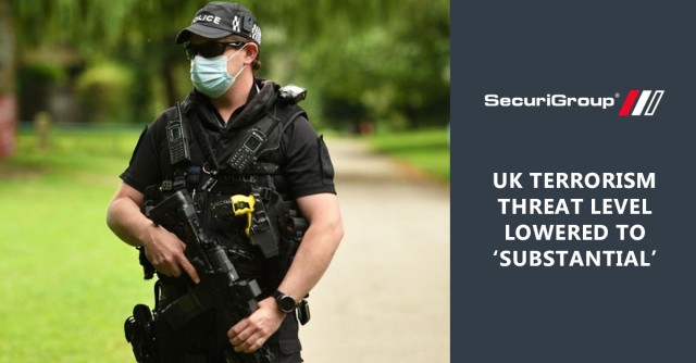 UK Terrorism Threat Level Lowered to 'Substantial'