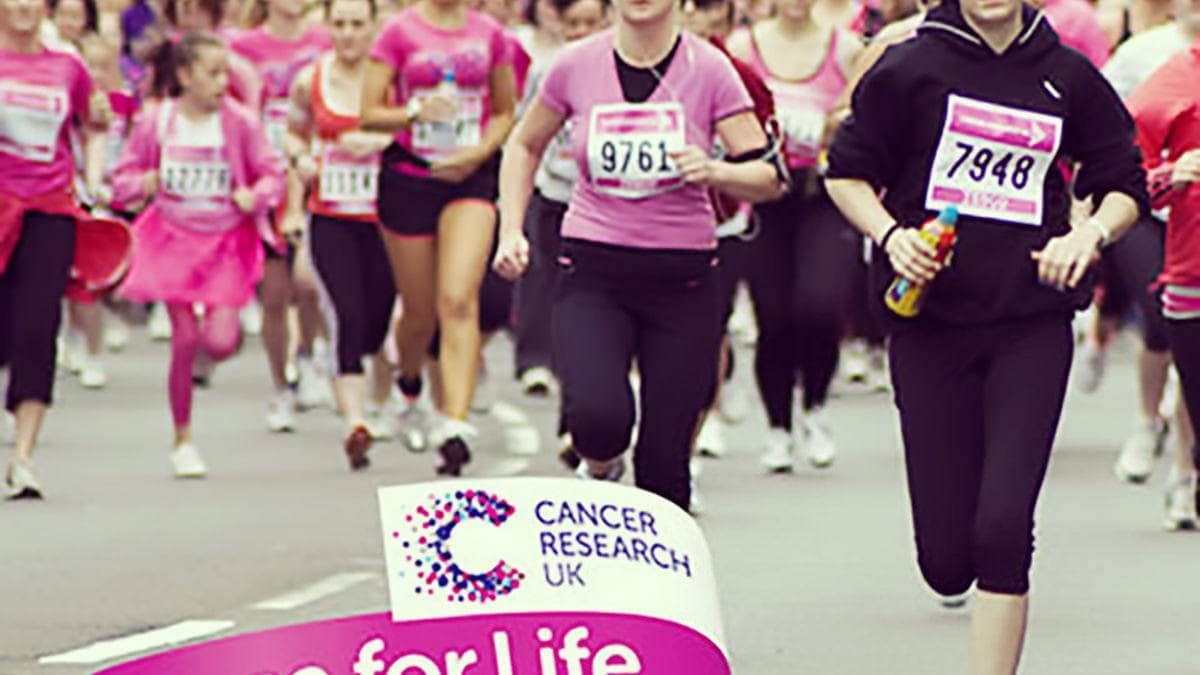 Supporting Cancer Research's Race For Life