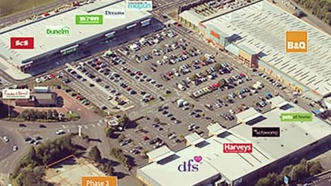 Retail Park Development with Workman